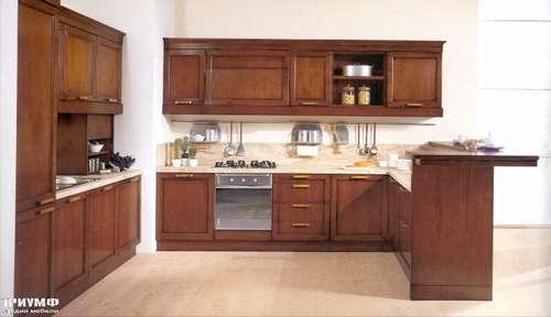 Итальянская мебель Arca - Кухня Quadra орех Италия