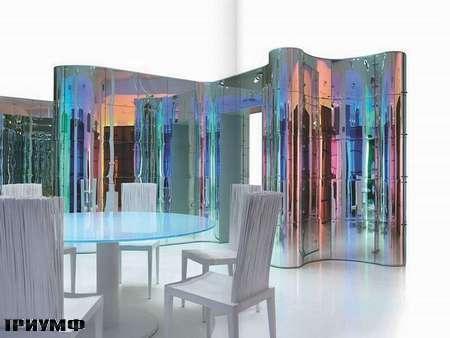 Итальянская мебель Edra - закругленная стенка