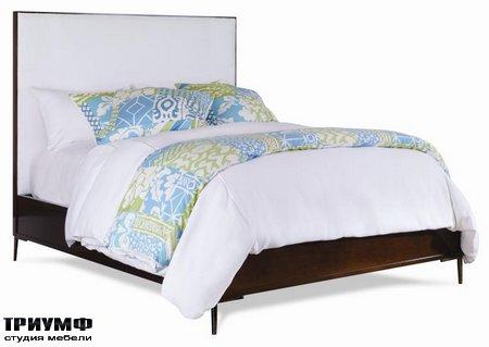 Американская мебель Centure - Marin Wood Trim Uph Bed