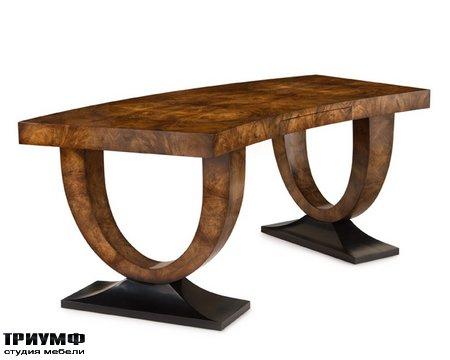 Американская мебель John Richard - Curved Walnut Desk