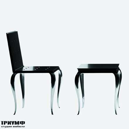 Итальянская мебель Driade - Стул и стол лаковые