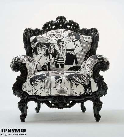 Итальянская мебель Moda by Mode - кресло Prince 3