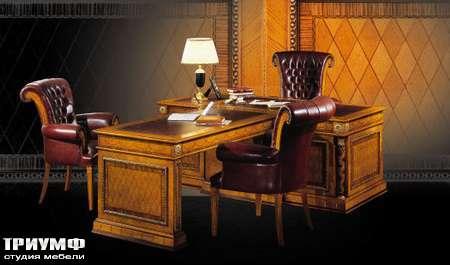 Итальянская мебель Ezio Bellotti - Стол с брифинг-приставкой