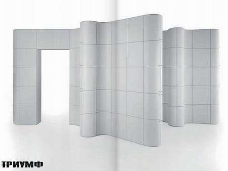 Итальянская мебель Edra - комбинация стеллажей