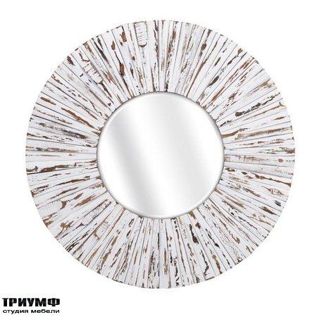 Американская мебель Imax - Sadie White Wooden Mirror