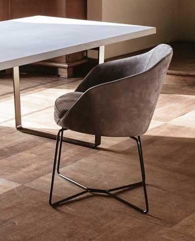 Итальянская мебель Vibieffe - Полукресло Ribbon