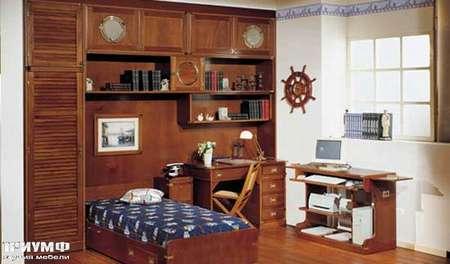 Итальянская мебель Caroti - Кабинет для школьника в морском стиле
