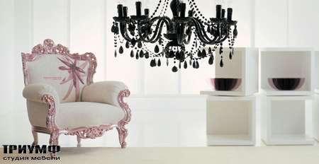 Итальянская мебель Moda by Mode - кресло Prince