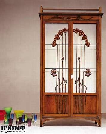 Итальянская мебель Medea - Витрина коллекция либерти с цветами, арт. 935