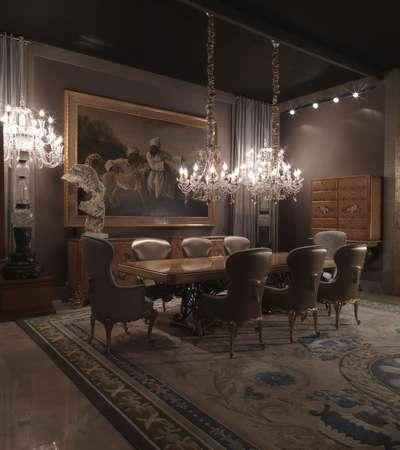 Итальянская мебель Jumbo Collection - Cтол прямоугольный коллекция Hermes