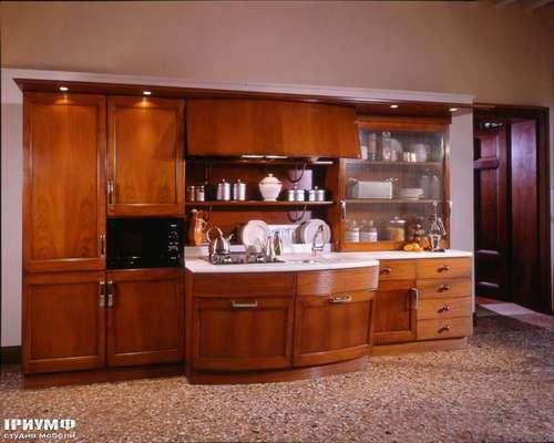 Итальянская мебель Arca - Кухня Lofty со скруглённой базой