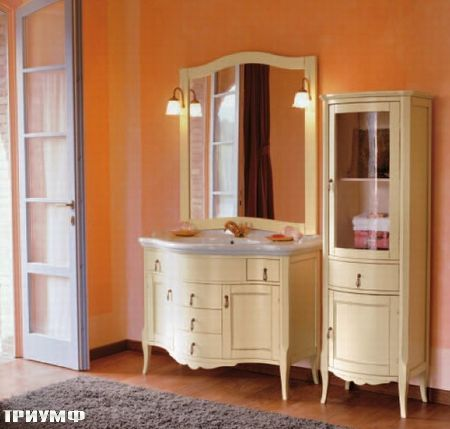Мебель для ванной из массива дерева