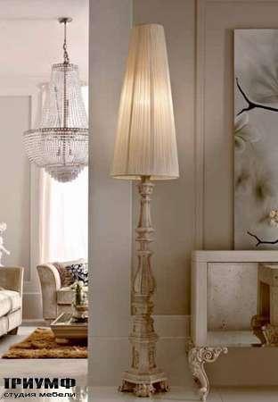 Итальянская мебель Dolfi - напольная лампа