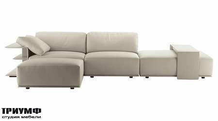 Итальянская мебель Poltrona Frau - диван Cassiopea