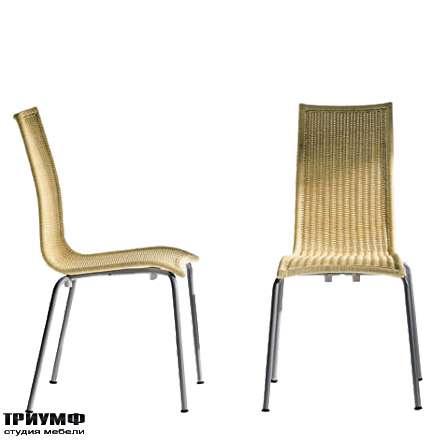 Итальянская мебель Driade - Стул плетеный из ротанга