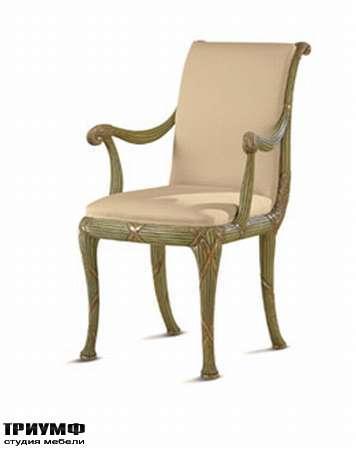 Итальянская мебель Chelini - Кресло  в ткани арт.149