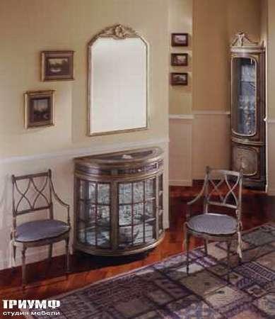 Итальянская мебель Ezio Bellotti - Комод со стеклянными дверками