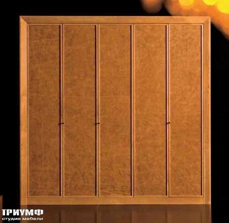 Итальянская мебель Grande Arredo - Шкаф с 5 распашными дверьми из дерева