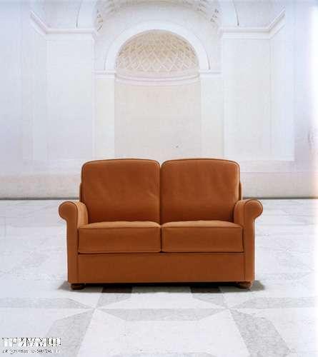 Итальянская мебель Mascheroni - Диван кабинетный Cocooning двухместный из кожи