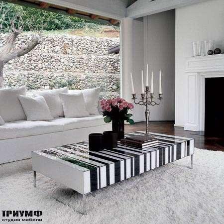 Итальянская мебель Porada - Журнальный столик Stripes