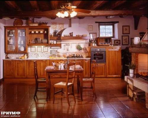 Итальянская мебель Arca - Кухня Telaio со столовой