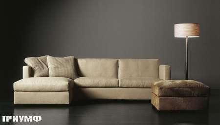 Итальянская мебель Meridiani - диван угловой Belmondo