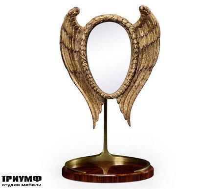 Американская мебель Jonathan Charles - Classical Winged High Lustre Santos Dressing Mirror