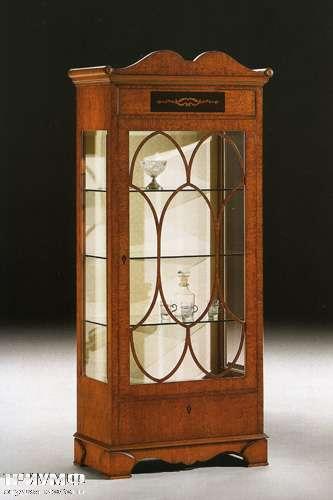 Итальянская мебель Citterio Fratelli - Витрина Seprentina большая, стекло