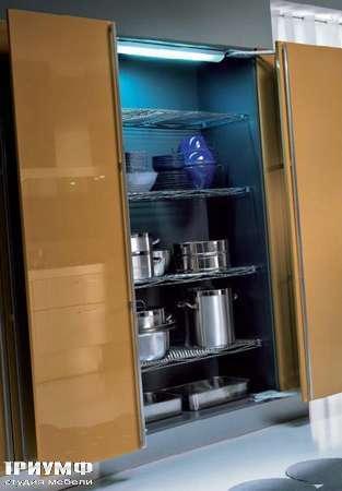 Итальянские кухни Pedini - Кухни Outline шкаф для хранения