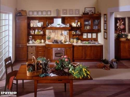 Итальянская мебель Arca - Кухня Telaio прямая