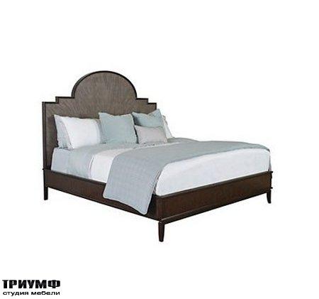 Американская мебель Henredon - Morgan Wood Panel Bed