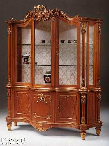 Итальянская мебель Citterio Fratelli - Витрина Ginevra с пилястрами