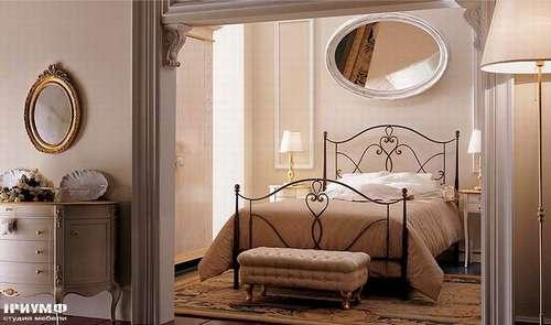Итальянская мебель Giusti Portos - Кровать в ковке Alicante