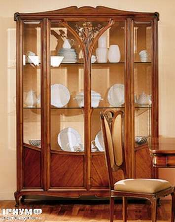 Итальянская мебель Medea - Витрина из коллекции Либерти, широкая, арт. 943