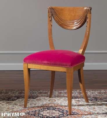 Итальянская мебель Colombo Mobili - Стул в стиле Бидермайер арт.242. S кол. Corelli