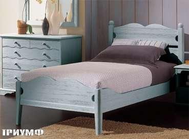 Итальянская мебель De Baggis - Кровать 20-521