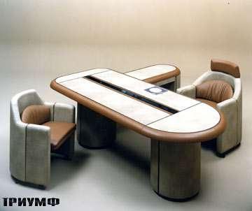 Итальянская мебель Rossi di albizzate - кабинет в коже ergon