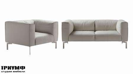 Итальянская мебель Poltrona Frau - диван, кресло Bosforo