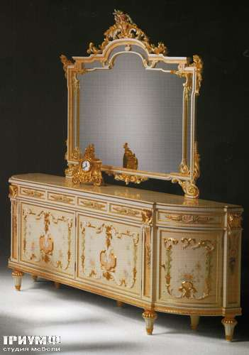 Итальянская мебель Citterio Fratelli - Прилавок классический с зеркалом