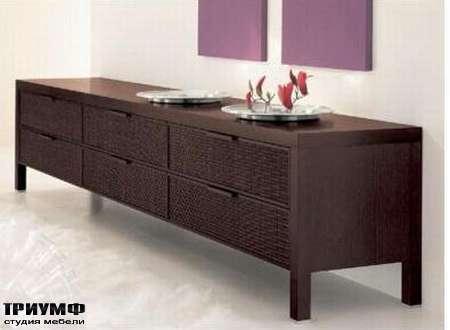 Итальянская мебель Rattan Wood - Комод Millennium