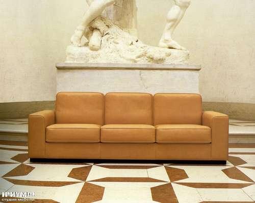 Итальянская мебель Mascheroni - Диван раскладной Shibumi в коже