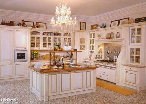 Итальянская мебель Arca - Кухня Victoria lacato bianco Италия