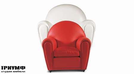 Итальянская мебель Poltrona Frau - кресло Baby Vanity Fair