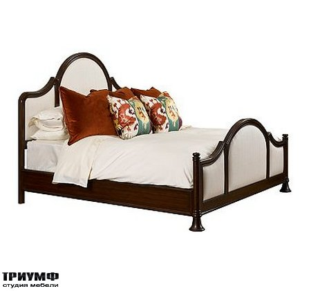 Американская мебель Henredon - QUEENSBORO UPHOLSTERED BED