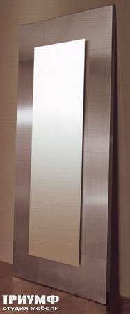 Итальянская мебель Rugiano - Зеркалом с рамой из металла
