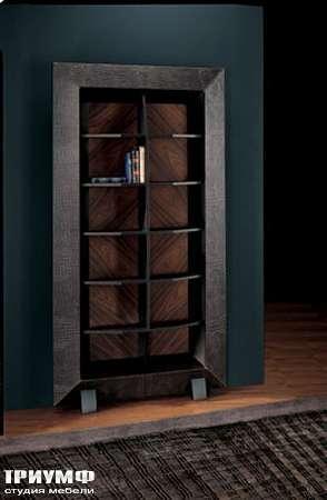 Итальянская мебель Smania - Шкаф открытый узкий книжный Spy