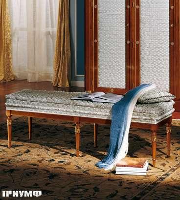 Итальянская мебель Colombo Mobili - Банкетка в имперском стиле арт.353 кол. Paganini