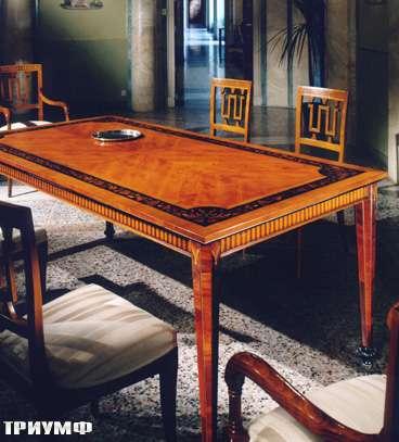 Итальянская мебель Colombo Mobili - Обеденный стол в стилеБидермайер арт.153 кол. Rossini