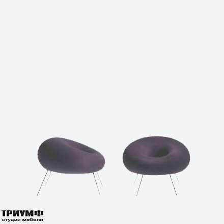 Итальянская мебель Driade - Мягкое кресло на ножках