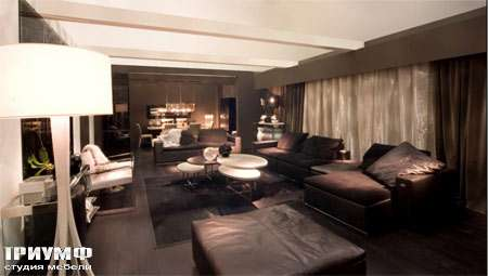 Итальянская мебель Fendi Casa - Стол журнальный из оникса